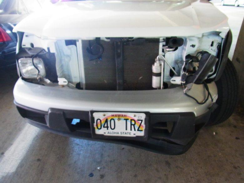 ターゲットカポレイの事故車