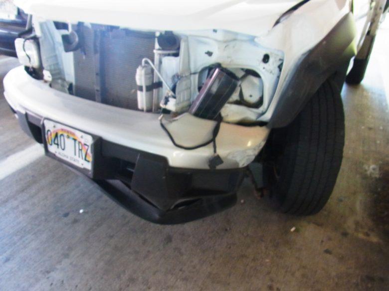 ターゲットカポレイ事故車