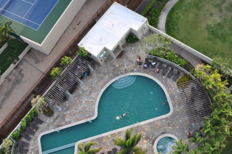 コオラニハワイのプール