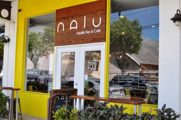 ハワイのNalu Health Bar & Cafe