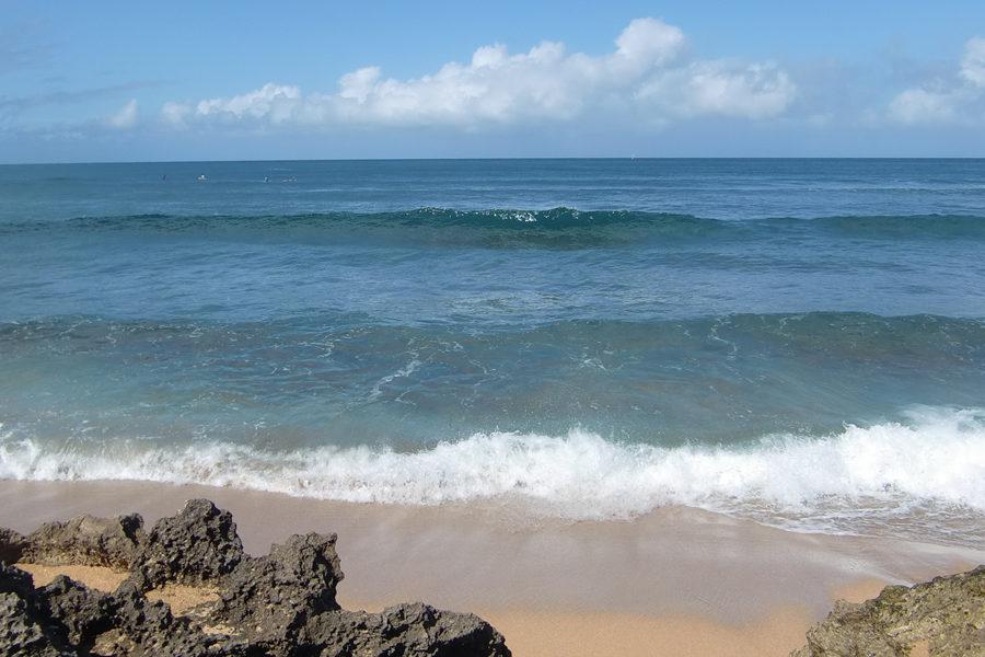 ハレイワの海