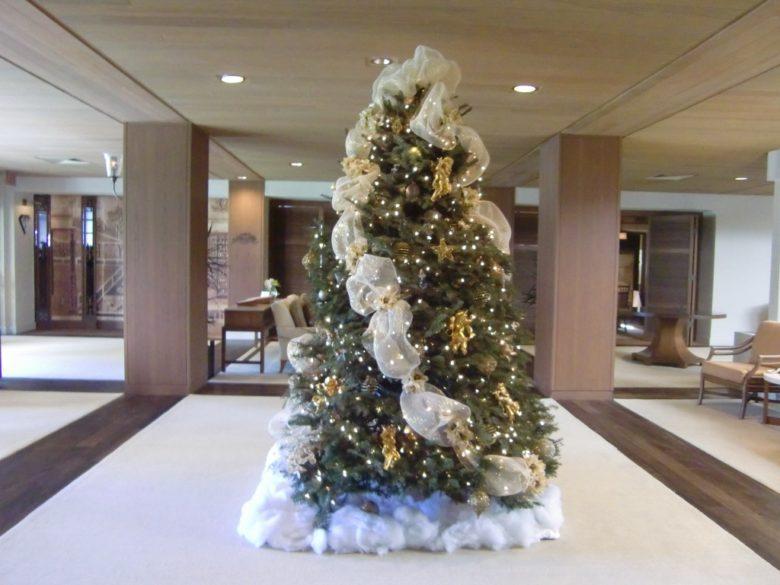 ハレクラニのクリスマスツリー