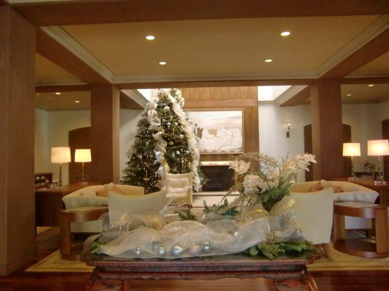 ハワイのクリスマス飾り