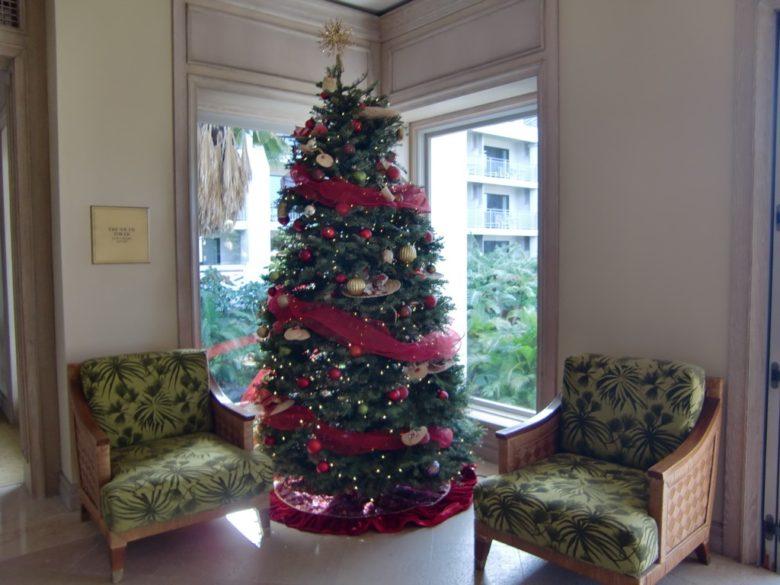 ハワイアンクリスマスツリー