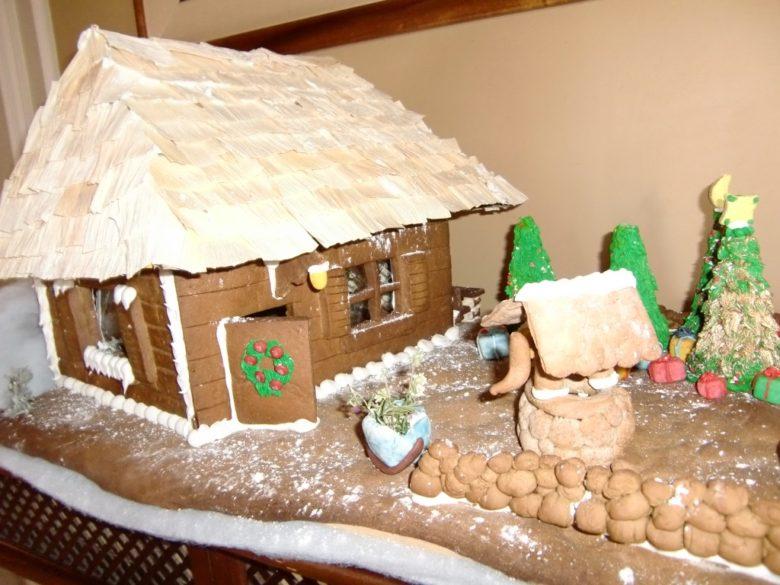 ハワイクリスマスお菓子の家