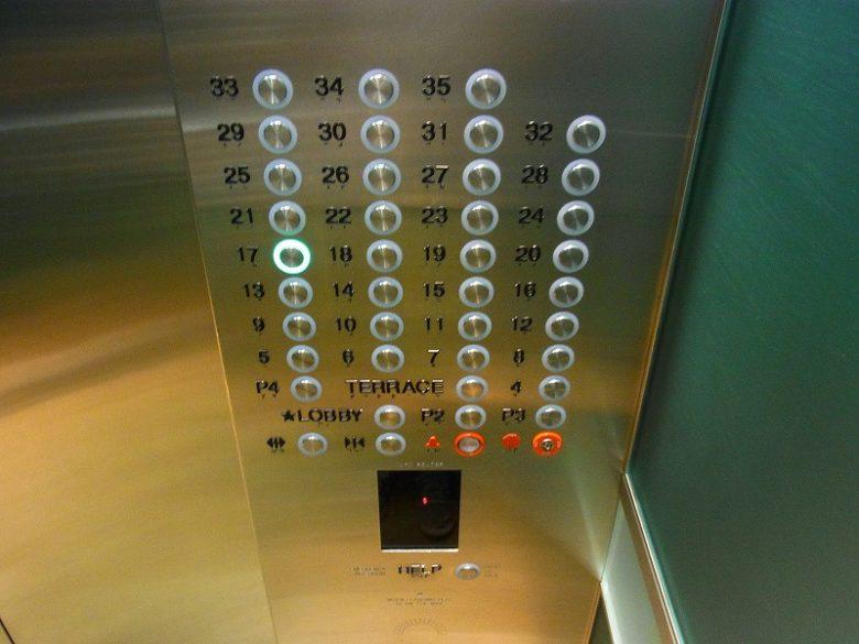 ホクアのエレベーター