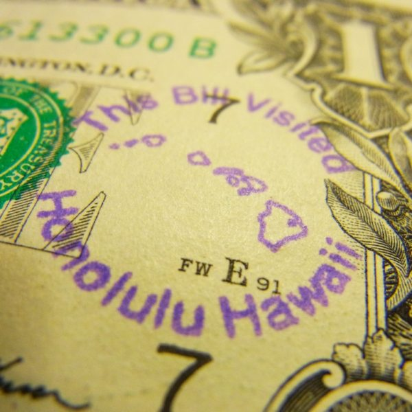 This Bill Visited Honolulu Hawaii